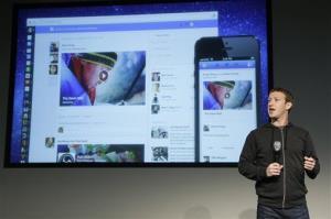 Facebook CEO Mark Zuckerberg speaks at Facebook headquarters in Menlo Park, Calif., Thursday, March 7, 2013.
