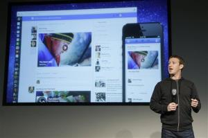Facebook CEO Mark Zuckerberg speaks at Facebook headquarters in Menlo Park, Calif., Thursday, March 7, 2013.