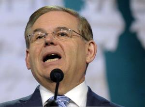 In this March 5 file photo, Senate Foreign Relations Committee Chairman Sen. Robert Menendez, D-NJ, speaks in Washington.
