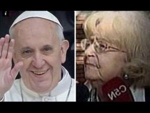 Amalia Damonte says Pope Francis wrote her a love letter when he was just 12 years old, but her father didn't let her answer.