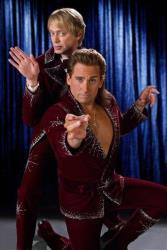 Steve Buscemi and Steve Carell pose in this publicity shot for The Incredible Burt Wonderstone.