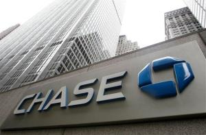 This Oct. 12, 2011 file photo shows a JPMorgan Chase bank building in New York.