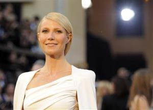 FILE - In this Feb. 26, 2012 file photo, actress Gwyneth Paltrow arrives before the 84th Academy Awards in the Hollywood section of Los Angeles. Paltrow will serve as the executive producer for the live, Stand Up to Cancer telethon on Sept. 7, 2012, to raise money and awareness to...