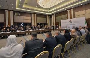 Syrian National Coalition for Opposition and Revolutionary Forces members meet in Istanbul, Turkey.