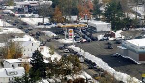 East Main Street in Torrington, Conn., is seen on Monday Oct. 31, 2011.