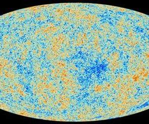 This image released March 21 by the ESA and Planck Collaboration shows the afterglow of the Big Bang, the cosmic microwave background, as detected by the European Space Agency's Planck space probe.