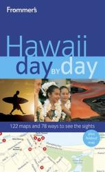 This undated book cover image shows the cover of Frommer's Hawaii Day by Day.