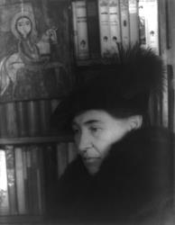 Willa Cather, photographed by Carl Van Vechten on Jan. 22, 1936.