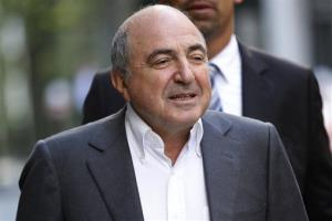 Russian tycoon Boris Berezovsky in London on Aug. 31, 2012.