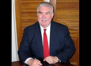 This undated photo taken from the Kaufman County, Texas, website shows Kaufman County District Attorney Mike McLelland.