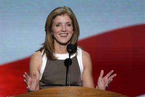 Caroline Kennedy addresses the Democratic National Convention in Charlotte, N.C., on Thursday, Sept. 6, 2012.