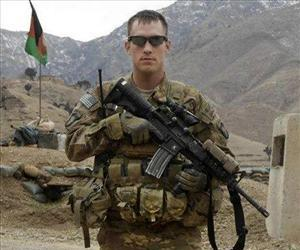This undated U.S. Army photo, shows Sgt. Michael C. Cable, 25, of Philpot, Ky. during his deployment in Afghanistan.