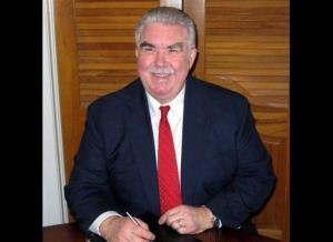 FILE - This undated file photo taken from the Kaufman County, Texas, website shows Kaufman County District Attorney Mike McLelland. McLelland and his wife were found killed in their house, Saturday, March 30, 2013, two months after one of his assistants was gunned down near their office, authorities said.