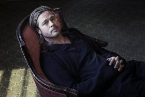 Brad Pitt poses for a portrait to promote his film Killing Them Softly, on Monday, Nov. 26, 2012 in New York.