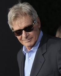 Actor Harrison Ford arrives at the premiere of the feature film Cowboys and Aliens at Comic Con in San Diego, Calif., on Saturday, July 23, 2011.