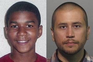 This combo made from file photos shows Trayvon Martin, left, and George Zimmerman.