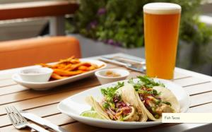 Fish tacos, as seen on LYFE Kitchen's website.