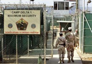 The real Guantanamo Bay, which is decidedly less pleasurable than the imaginings of certain party organizers.