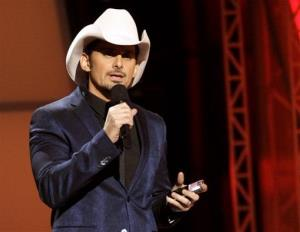 This Nov. 1, 2012, file photo shows Brad Paisley hosting the 46th Annual Country Music Awards.