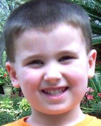 This undated image provided by the Hillsborough County Sheriff's Office shows four-year-old Cole Hakken.
