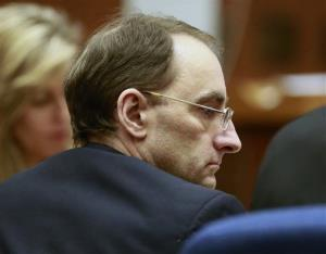 This Monday April 8, 2013, file photo shows Christian Karl Gerhartsreiter listening to final arguments at his trial in Los Angeles.