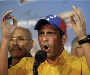 Henrique Capriles is refusing to accept the results of Sunday's presidential election and is demanding a recount.