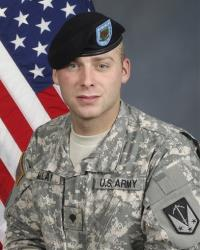 Spc. William Colton Millay is shown in this undated photo released by the US Army.