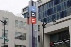 The new headquarters for NPR on North Capitol Street in Washington, Monday, April 15, 2013.