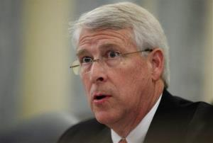 A file photo of Sen. Roger Wicker, R-Miss.