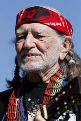 A file photo of Willie Nelson, who grew up just a few miles away from West, Texas.