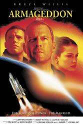 The cover of the 'Armageddon' DVD.