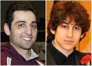 This combination of undated file photos shows Tamerlan Tsarnaev, 26, left, and Dzhokhar Tsarnaev, 19.