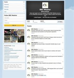 Supporters of Syrian President Bashar Assad hijacked the Twitter account for the BBC's weather service last month.