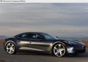The Fisker Karma.