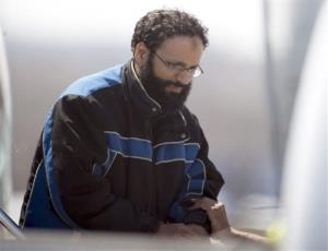Chiheb Esseghaier, one of two suspects accused of plotting to derail a train in Canada.