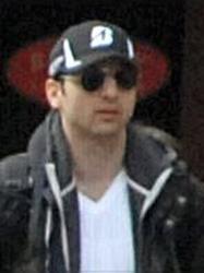 Tamerlan Tsarnaev at the Boston Marathon.