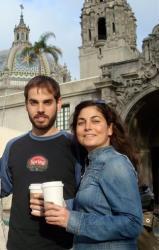 This 2009 photo shows siblings Dan and Kate Suski.