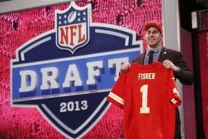 No. 1: Kansas City Chiefs get Eric Fisher, Central Michigan, offensive tackle