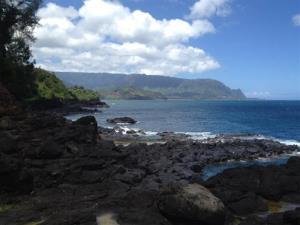 This 2012 photo shows Queen's Bath on the island of Kauai.