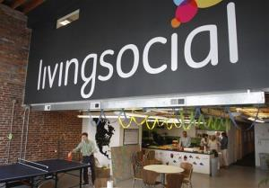 A file photo of LivingSocial's offices in Washington.