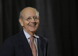 Supreme Court Justice Stephen Breyer during a lecture at Boston University School of Law earlier this year.
