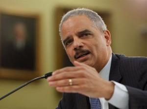 Attorney General Eric Holder testifies on Capitol Hill in Washington, Thursday, April 18, 2013.