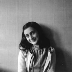 Anne Frank poses in 1941 in this photo made available by Anne Frank Fonds/ Anne Frank House in Amsterdam, Netherlands, Thursday, June 11, 2009.
