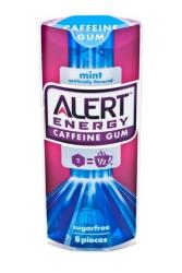This product image provided by the Wm. Wrigley Jr. Company shows packaging for Alert Energy Caffeine Gum.