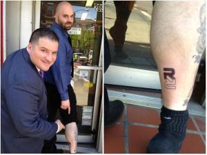 Rapid Realty's 39th company tattoo.
