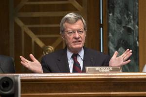 Sen. Max Baucus, D-Mont., won't be seeking re-election, and that opens up a real chance for Republicans to grab his seat.