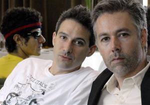 A 2006 file photo of Beastie Boys members Adam Yauch, right, Adam Horovitz, center, and Mike Diamond.