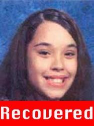 This image provided by the FBI shows the updated Missing Person poster for Georgina Gina Dejesus.