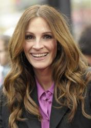 Actress Julia Roberts arrives at the premiere of the feature film Mirror Mirror in Los Angeles on Saturday, March 17, 2012.
