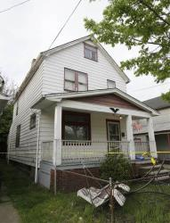 The house in Cleveland where the three women escaped.